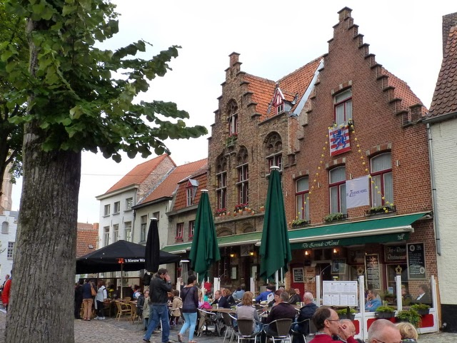 photo: house/residence of flamboyant extrovert passionate  1 million earning Brugge, Belgium-resident