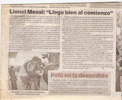 HABLANDO CON EL MEJOR JUGADOR DEL MUNDO LIONEL MESSI