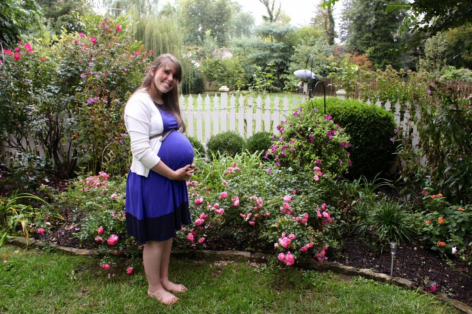 Elisepeace pregnancy week 38 for Gardening while pregnant