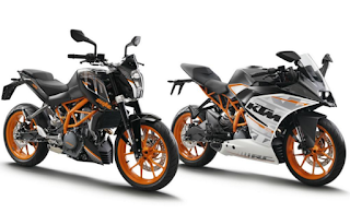 KTM Duke dan KTM RC