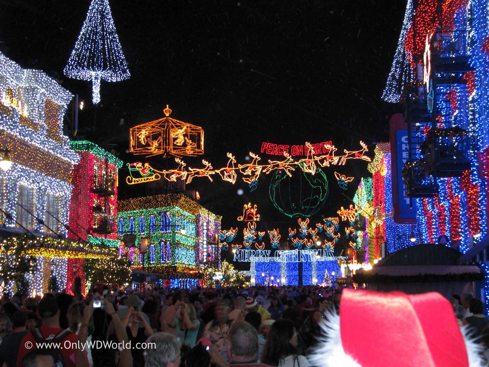 Disney world christmas decorations - Walt Disney World Resort Christmas Fun Facts