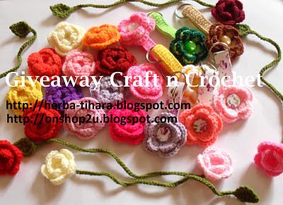 Giveaway Craft n Crochet