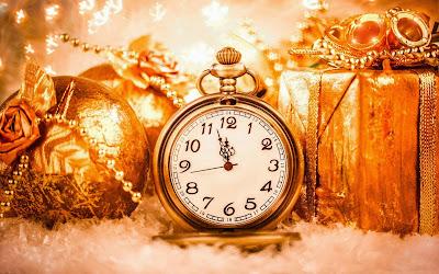 Papel de Parede Relógio de Natal christmas clock countdown desktop wallpaper