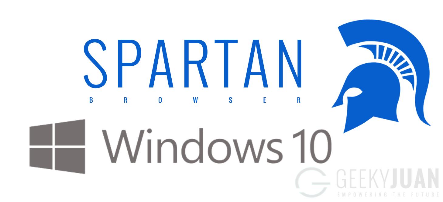 Spartan Browser in Windows 10 - Geeky Juan