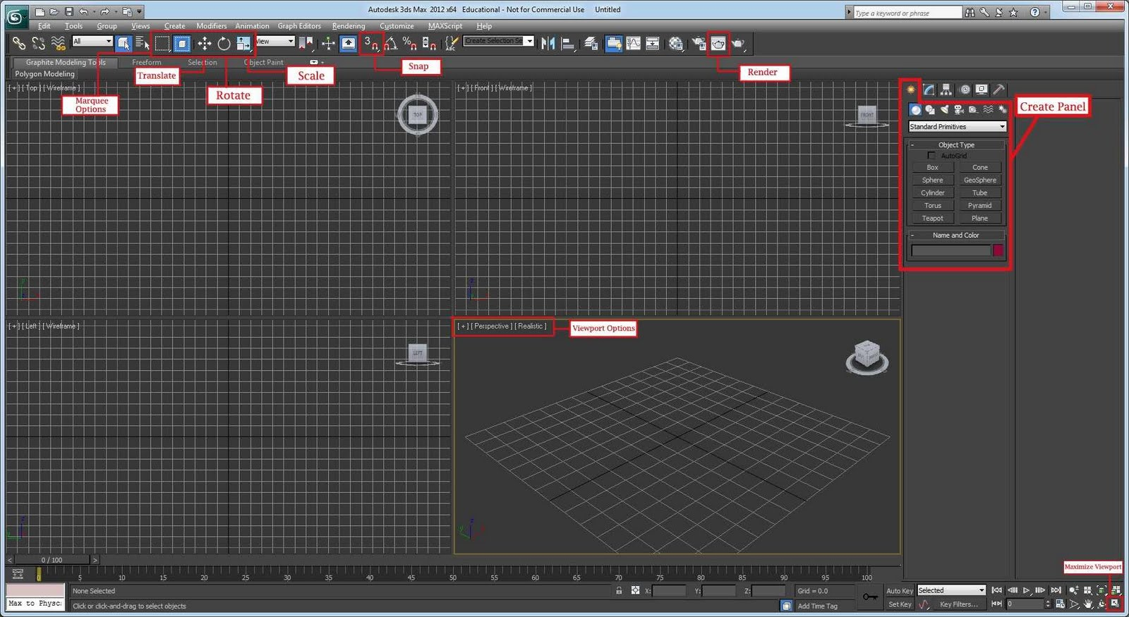 FD 128 Course: Fundamentals of Game Art: Intro to 3ds Max