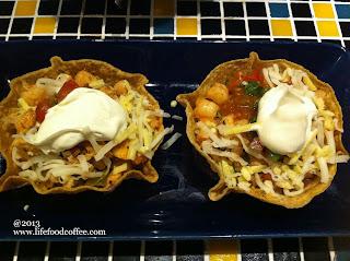 Seafood Tostada from Mucho Modern Mexican @ Plaza Singapura