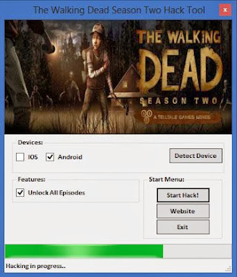 The Walking Dead Season Two Hack