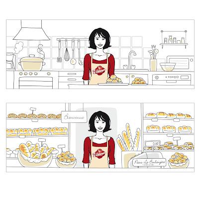 cuisine et boulangerie La Boulangère