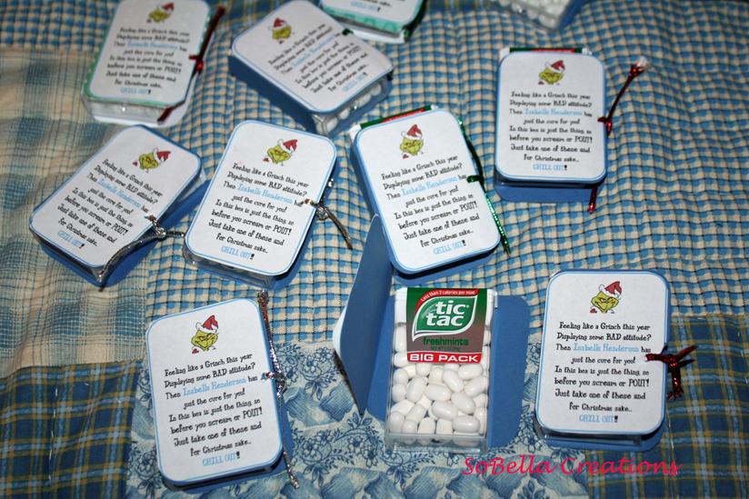 Printable Grinch Pills Template