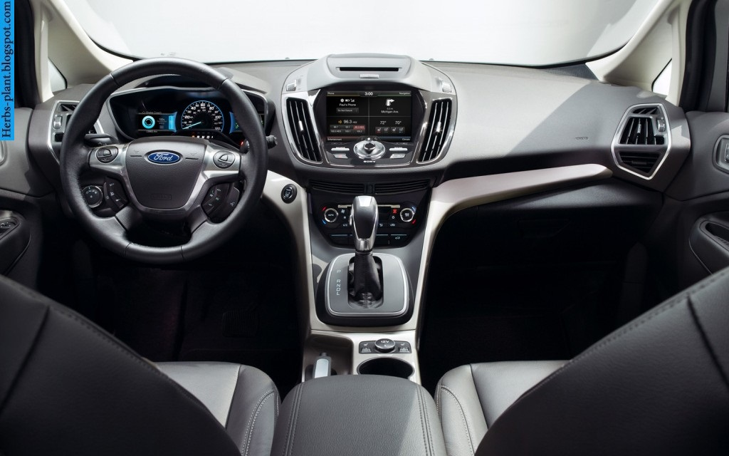Ford c-max car 2013 dashboard - صور تابلوه سيارة فورد سي-ماكس 2013