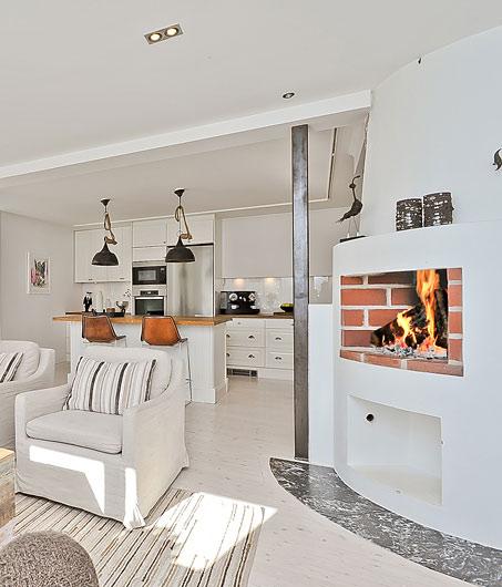 Apartamentos Decoracion Nordica ~ Una casa n?rdica con vigas de madera Decoraci?n  Casas con vida