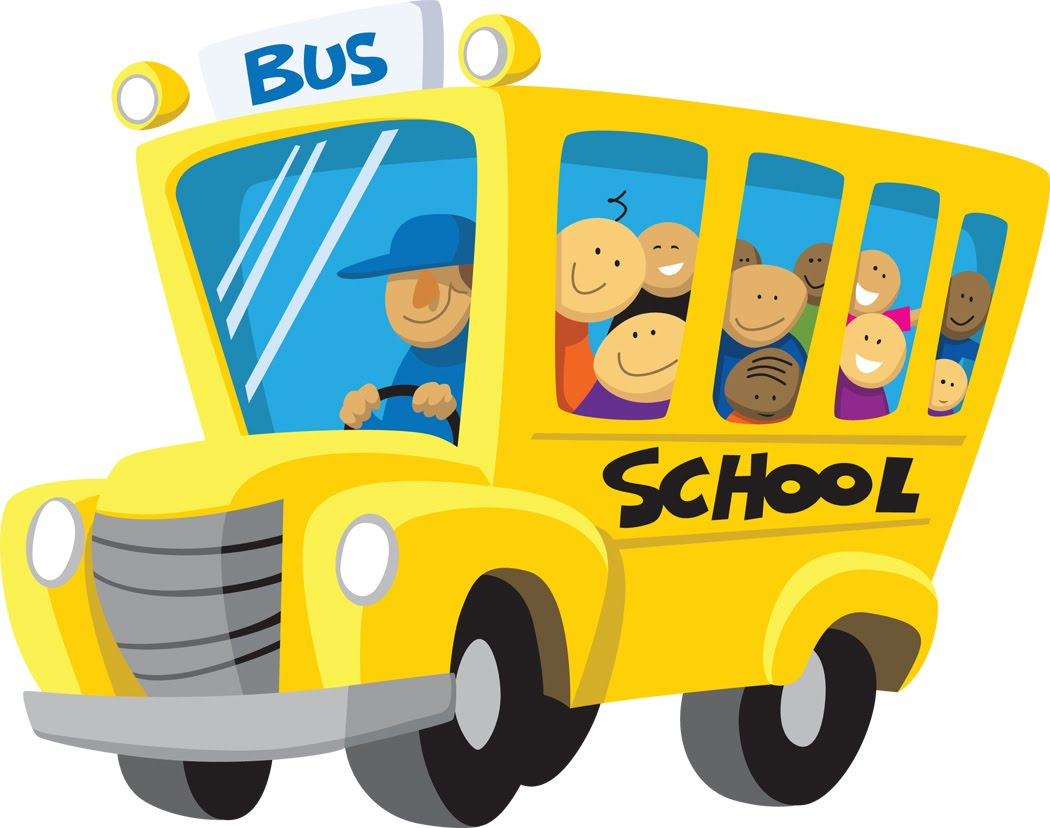 The Electronic Blogspot School Buses Running On French
