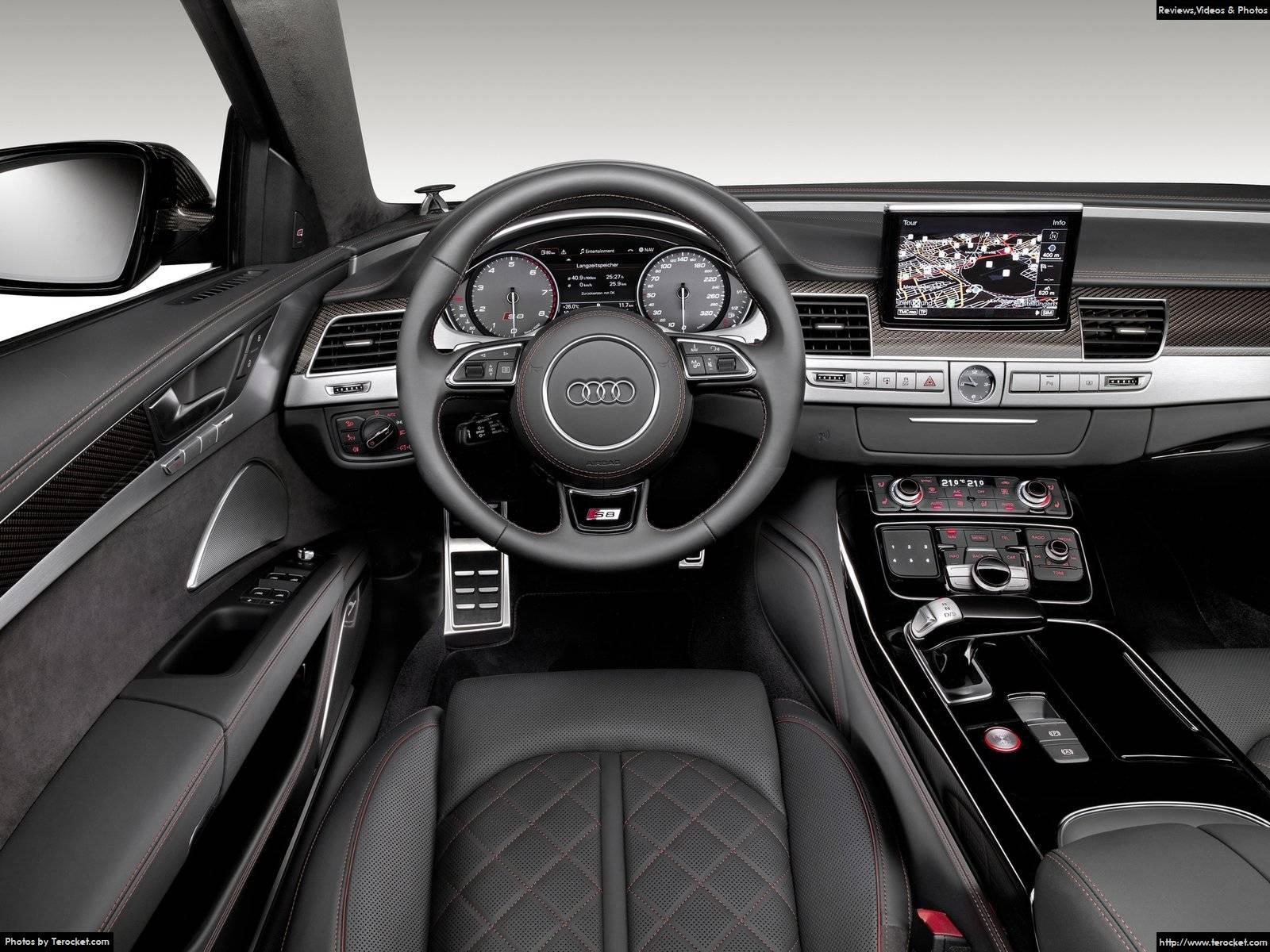 Hình ảnh xe ô tô Audi S8 plus 2016 & nội ngoại thất