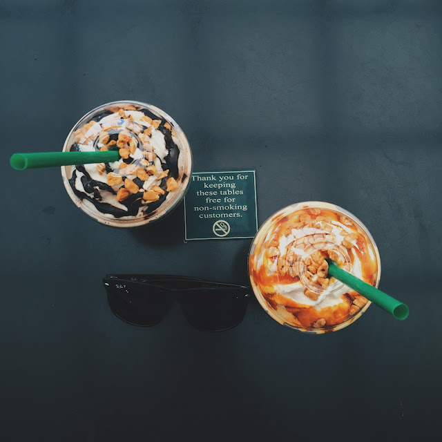 Starbucks Honeycomb Frappuccinos