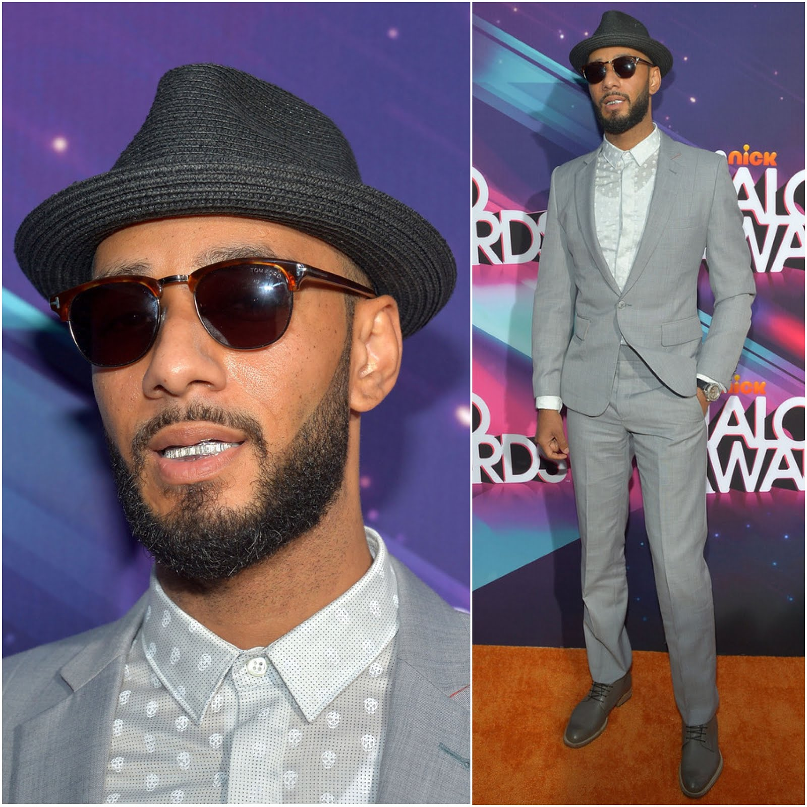 00o00 London Menswear Blog Celebrity Style Swizz Beatz in Alexander McQueen - 2012 Halo Awards