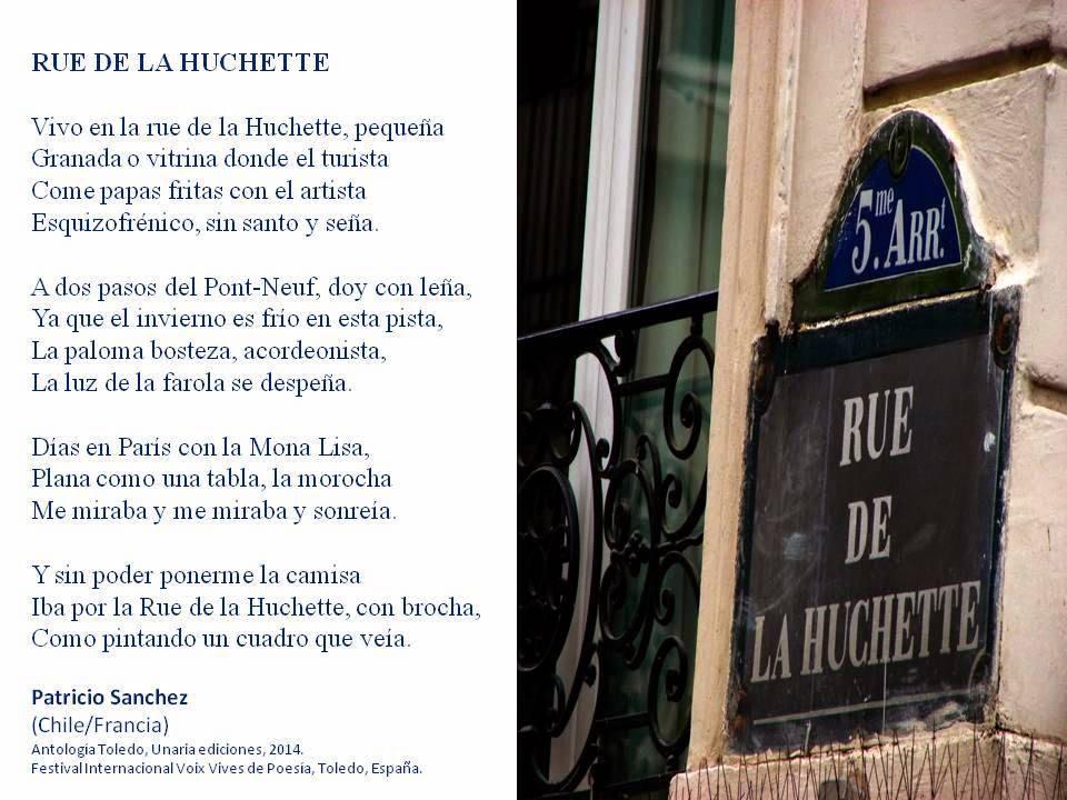 Rue de la Huchette - Patricio SANCHEZ-ROJAS - France.