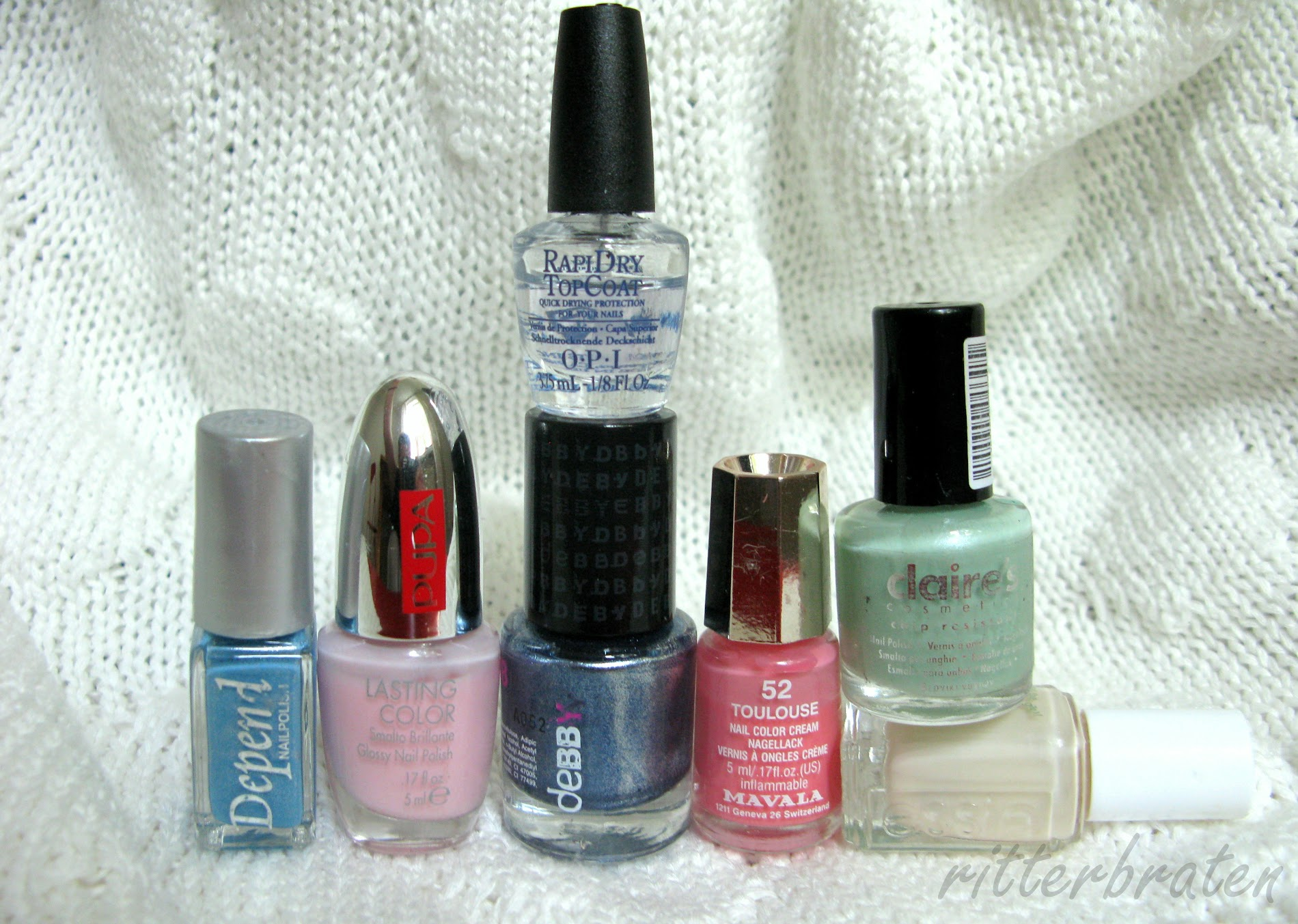 mini size nail polish