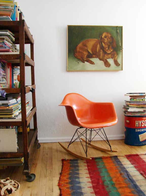 The Boo And The Boy Eames Rockers In Kids Rooms
