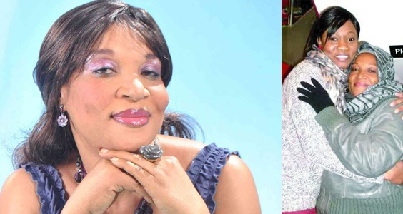 Actress Ngozi Nwosu Back to the Country Fully Recovered  chiomaandy.com