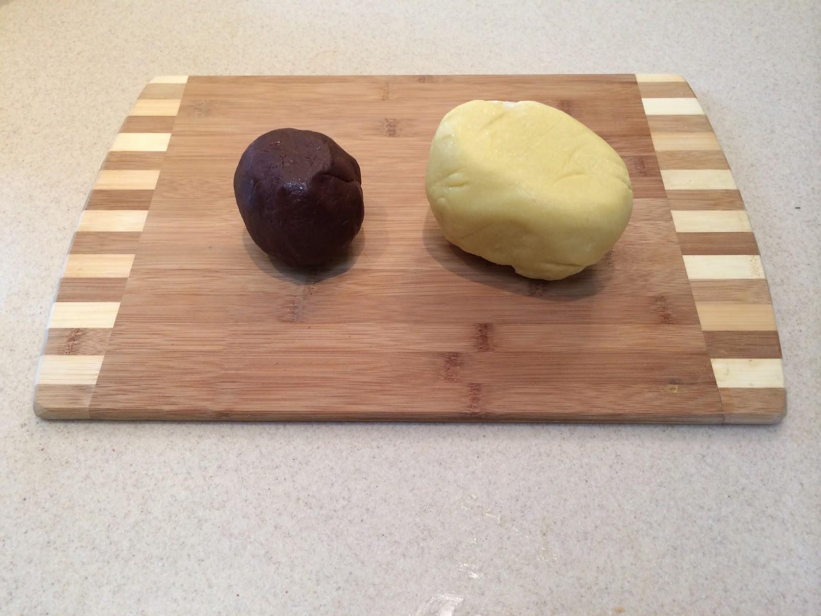 Шахматное масляное печенье (butter cookies)