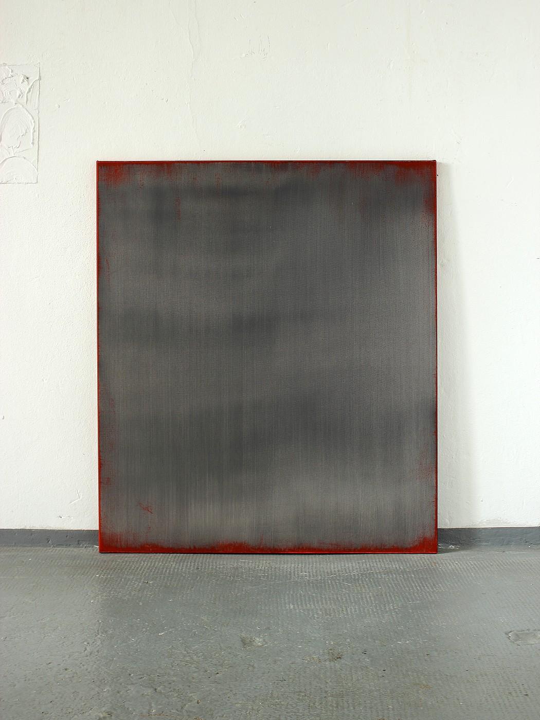 Christian hetzel red grey for Minimal art kunstwerke