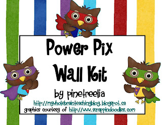 Owl Theme, Wall Kit, freebie, whole brain teaching