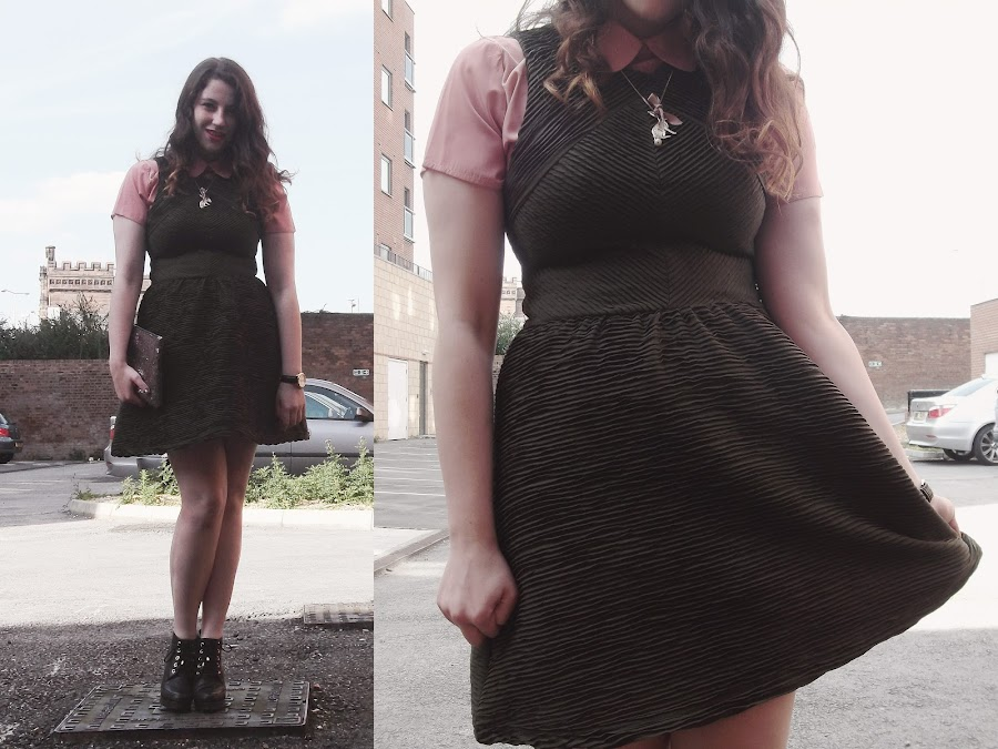 it's cohen - UK Style and Fashion Blog: what i wore, AW12, ootd, how to wear the military trend