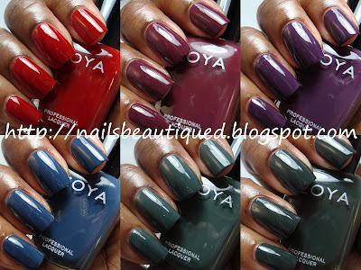Zoya Designer Cream Collection 2012