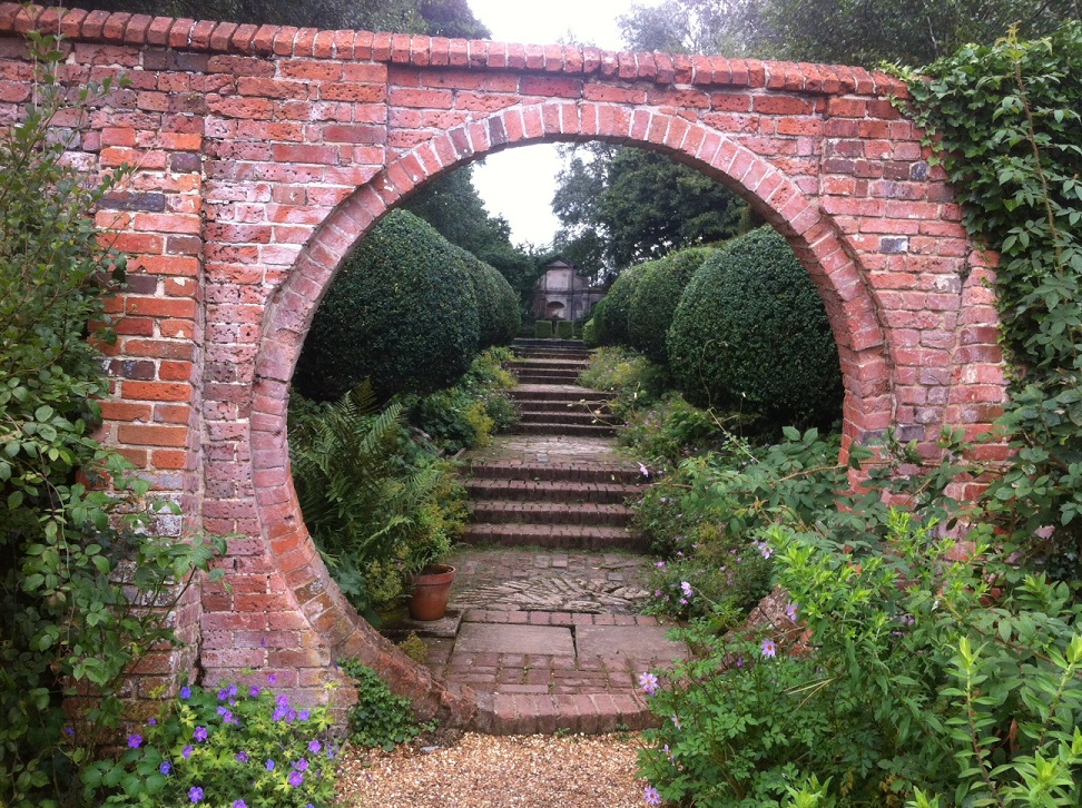 Doorways portals and passages a secret garden in for 3 portals