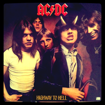 ACDC – Highway to Hell (1979 – Atlantic) Portada