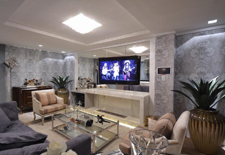Sala De Estar Living ~ Livings decorados  veja 40 salas de estar de estilos diferentes
