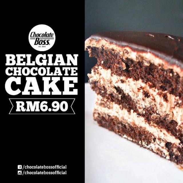 tempat makan sedap penang, kek menarik dan sedap penang, chocolate boss penang, belgian chocolate cake, kedai kek sedap penang,