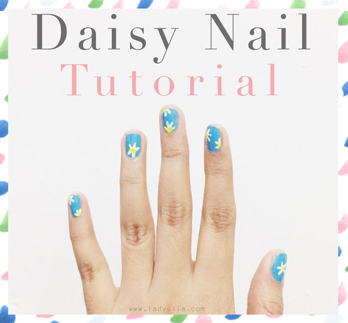 Diy daisy nail art tutorial get up survive go back to the bed im so in love with anything featured daisy flowers that is why i cant help myself not to share this diy daisy nail art tutorial here solutioingenieria Gallery