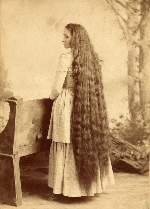 17 Interesting Vintage Portraits of Long Hair Victorian Ladies ~ vintage everyday
