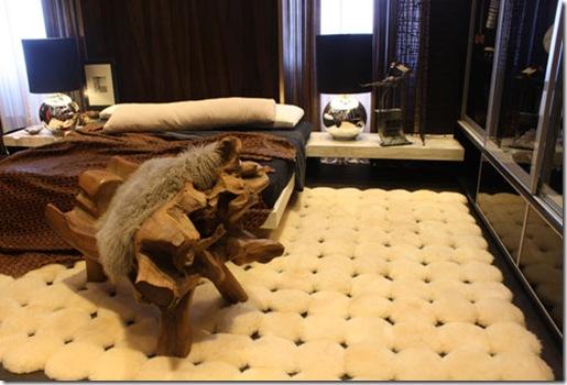 Dormitorio oscuro con toques rusticos dormitorios fotos for Dormitorio oscuro decoracion