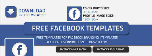 facebook cover photo and profile image size 851x315 | 180x180, Powerpoint templates