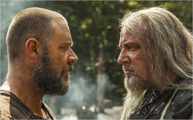 "Russell Crowe y Ray Winstone en ""Noé"""