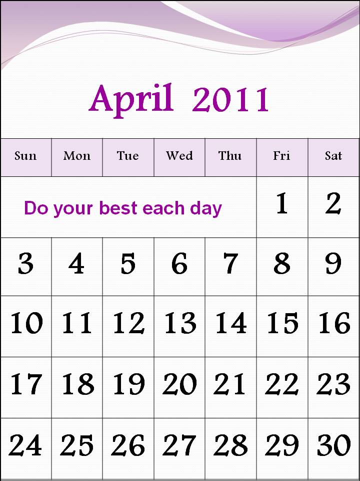 2011 calendar april easter. calendar april 2011 uk