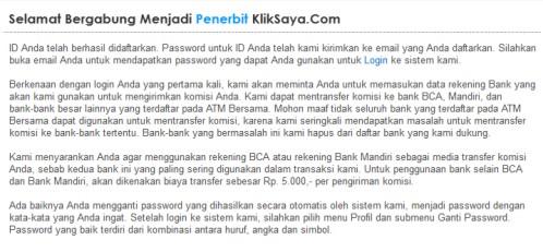 KlikSaya - PPC Terbaik Indonesia
