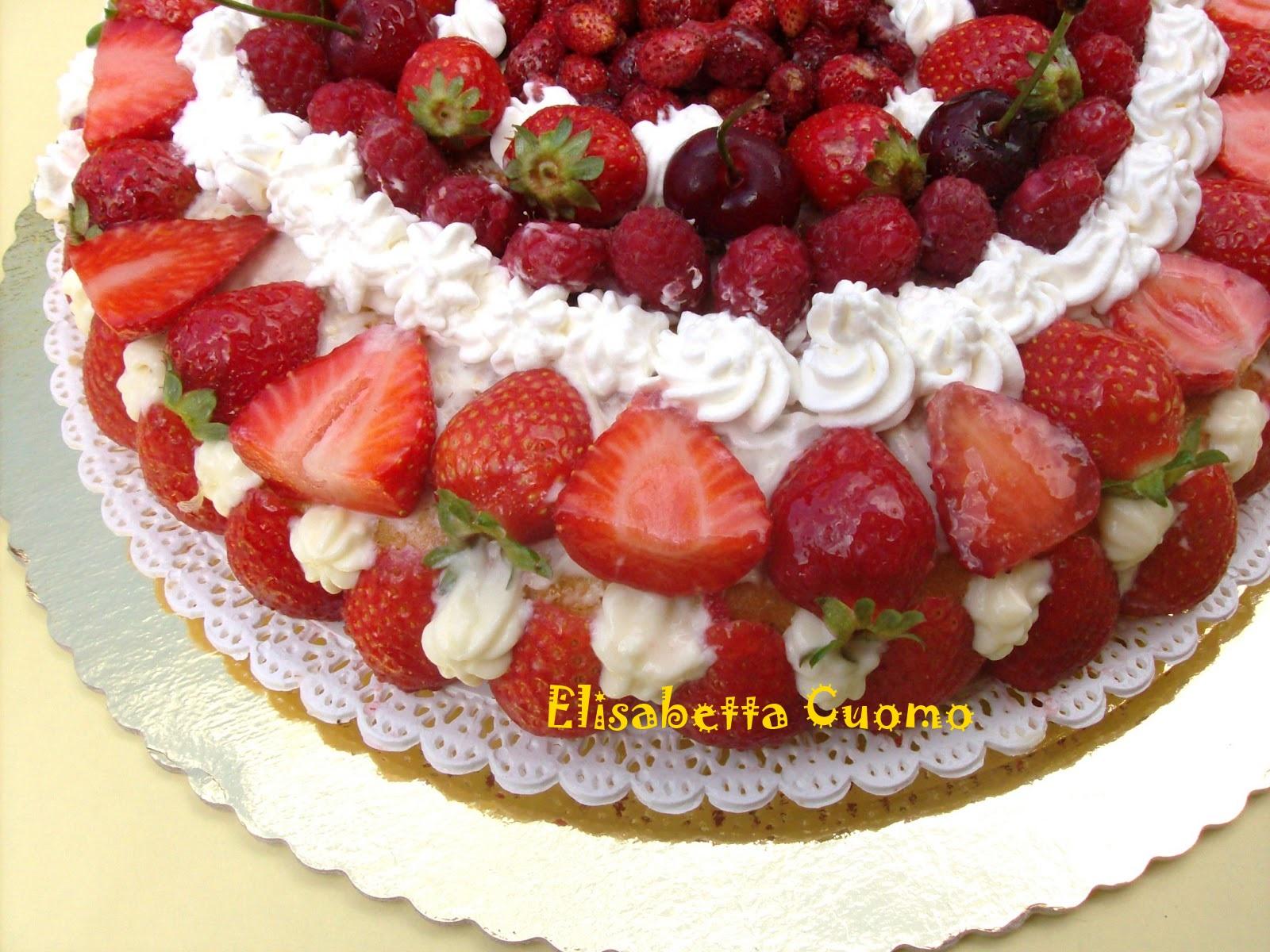 Elisabetta Cuomo - Blog di cucina: Torta classica di pan di Spagna ...