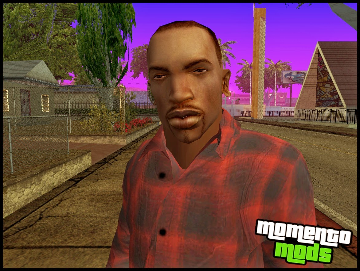 GTA SA - Skin Do CJ Em HD 2014