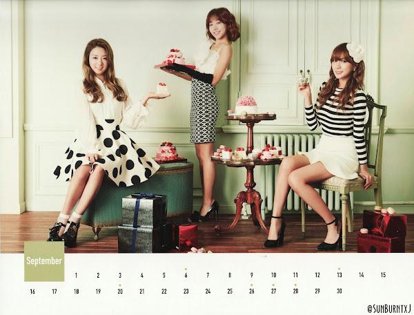 Apink calendar 2015 scans Bomi Namjoo Hayoung