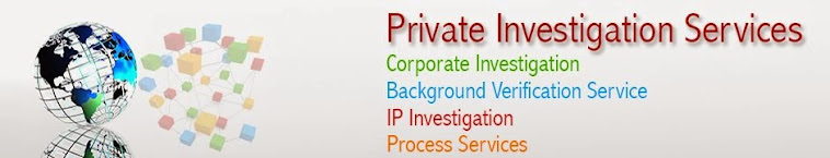 Private Investigation services- private investigators