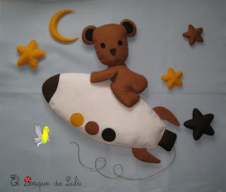 decoración-fieltro-infantil-mural