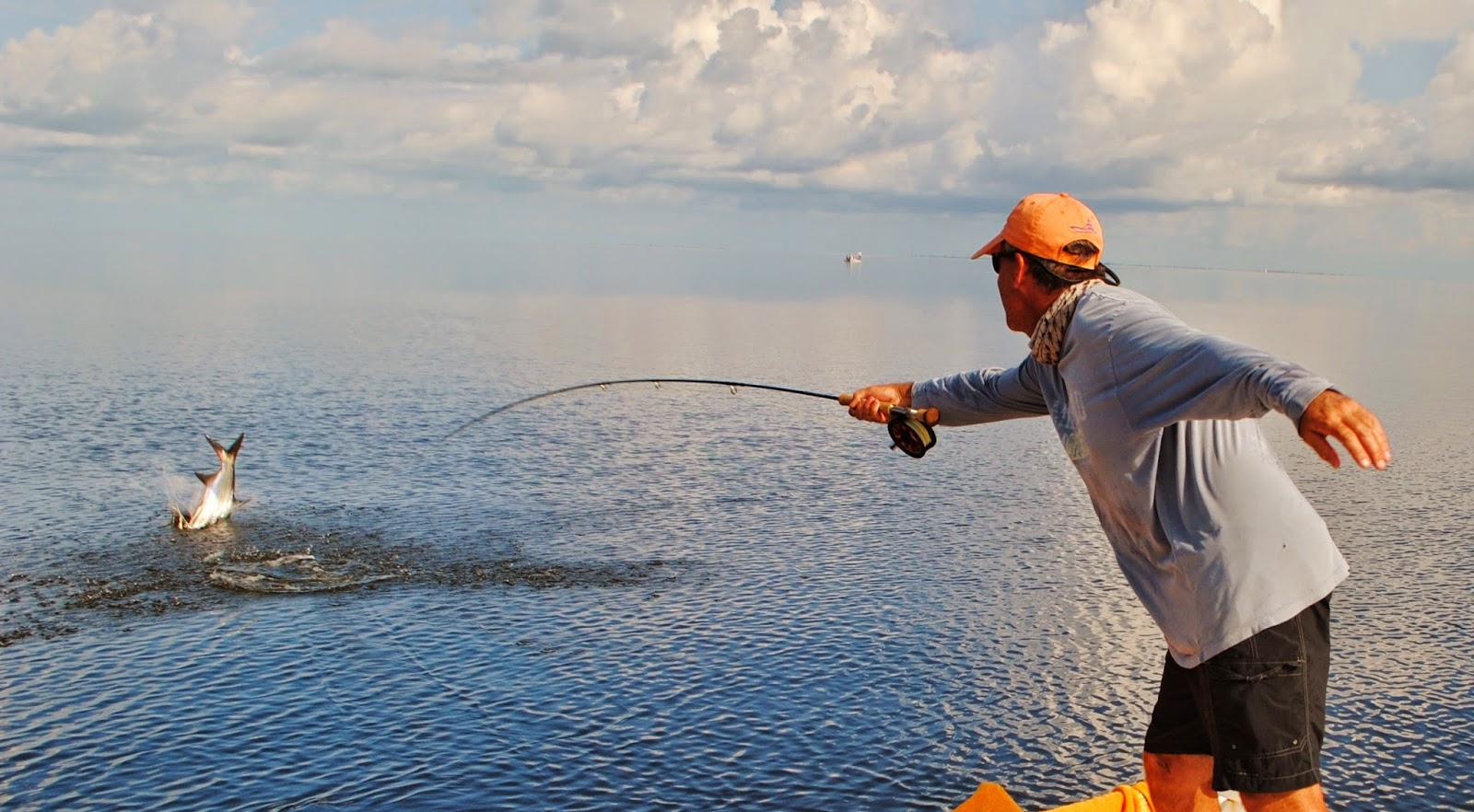 Matlacha Fishing Guide Gregg McKee Tarpon on Fly