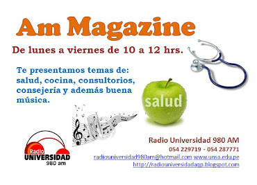 """AM Magazine"" por Radio Universidad"