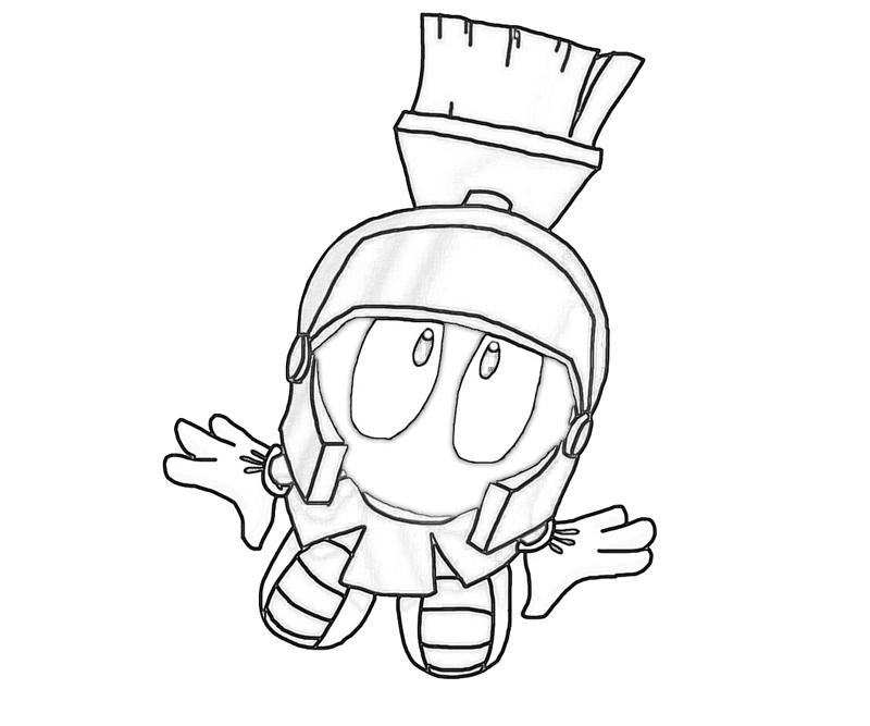 galactic taz ball marvin the martian concept - Marvin The Martian Coloring Pages