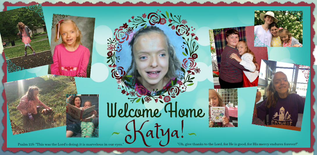 Welcome Home Katya!