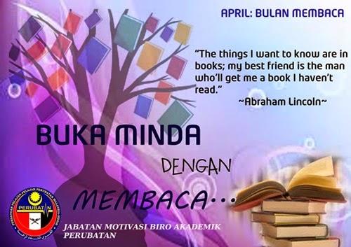 Buka Minda Dengan Membaca, budaya membaca