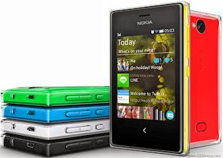 Harga Nokia Asha 500, 502 dan 503